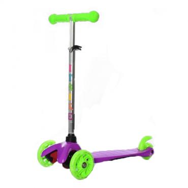 Дитячий самокат iTrike Mini BB 3-013-4 Violet