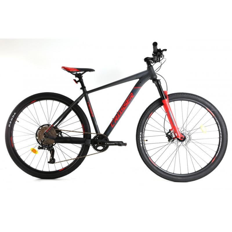 """Гірський велосипед Crosser 29"""" 17"""" 075-C LTWOO 12s гідравліка червоний"""