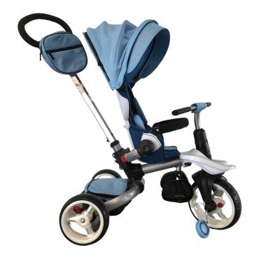 Дитячий триколісний велосипед-коляска Crosser T-600 Rosa