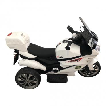 Дитячий мотоцикл Bambi M 4204 EBLR-1 Suzuki, білий