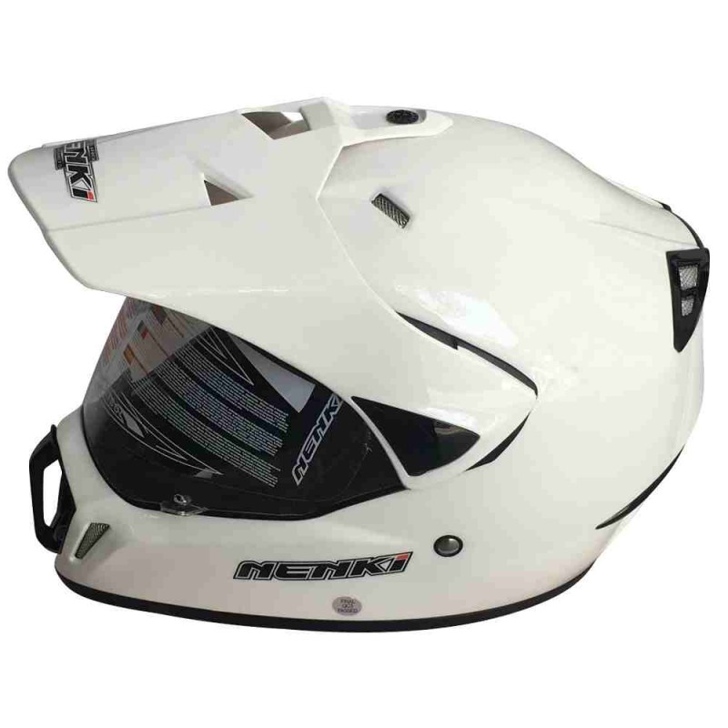 Мотошлем NENKI MX310 WHITE