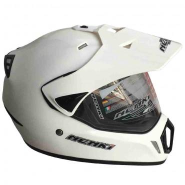 Мотошлем NENKI MX310 WHITE